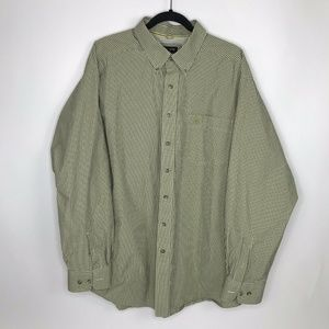 Mens Ariat Pro Series Long Sleeve Button Front